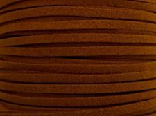 Picture of 3x1,2 mm, Ultra suede synthetic lace, camel brown