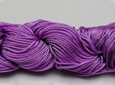 Picture of Chinese knotting cord - braided nylon cord, 0.8 mm, lavender blue