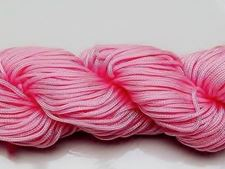 Picture of Chinese knotting cord - braided nylon cord, 0.8 mm, pink