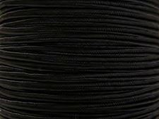Picture of Soutache, rayon ribbon, 3 mm, black