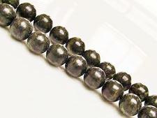 Image de 8x8 mm, perles rondes, pierres gemmes, jaspe vert africain, naturel