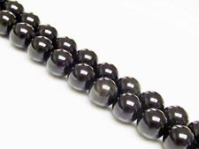 Picture of 10x10 mm, round, gemstone beads, obsidian, rainbow, natural