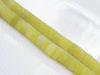 Afbeelding van 3x6 mm, wielvorm, edelsteen kralen, citroen jade, natuurlijk