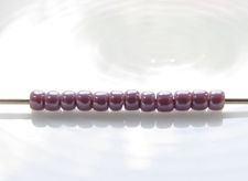 Picture of Japanese seed beads, Toho, size 11/0, lavender purple, opaque luster
