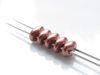 Afbeelding van 5x2.5 mm, SuperDuo kralen, Tsjechisch glas, 2 gaatjes, metaalachtig, brons-koper, mat
