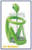 Image de Alessi, Inka, presse-filtre, cafetière, vert, Guido Venturini, 2000