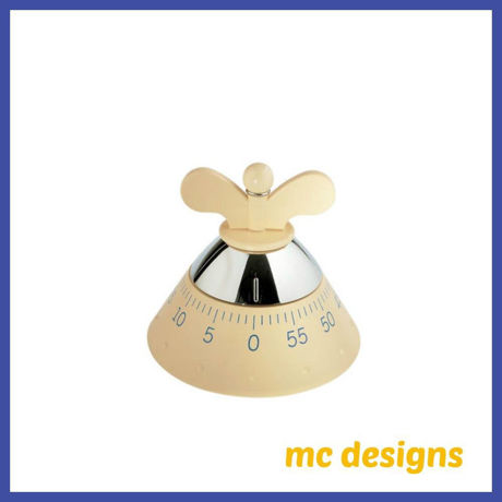 Picture of Alessi, Kitchen timer, cream version, Michael Graves, 1992