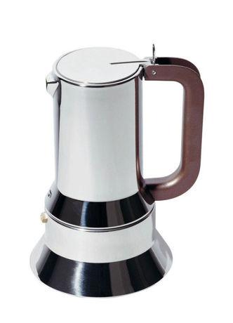 Picture of Alessi, 9090, espresso coffee maker, 3 cups, Richard Sapper, 1979