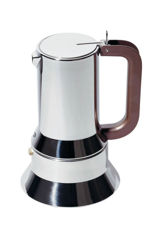 Picture of Alessi, 9090, espresso coffee maker, 6 cups, Richard Sapper, 1979